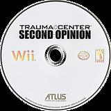 Trauma Center: Second Opinion Wii disc (RKDEEB)