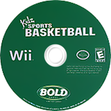 Kidz Sports: Basketball Wii disc (RKSENR)