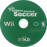 Kidz Sports: International Soccer Wii disc (RKTENR)