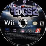 The BIGS 2 Wii disc (RKVE54)