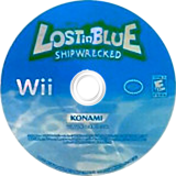 Lost in Blue: Shipwrecked Wii disc (RKZEA4)