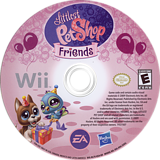 Littlest Pet Shop: Friends Wii disc (RL7E69)