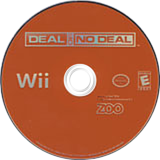 Deal or No Deal Wii disc (RLAE20)