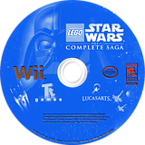 LEGO Star Wars: The Complete Saga Wii disc (RLGE64)