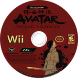 Avatar: The Last Airbender Wii disc (RLVE78)