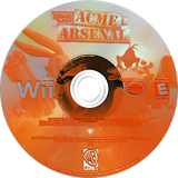 Looney Tunes: Acme Arsenal Wii disc (RLYEWR)