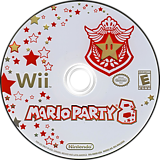 Mario Party 8 Wii disc (RM8E01)