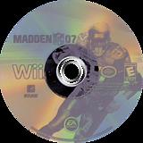 Madden NFL 07 Wii disc (RMDE69)