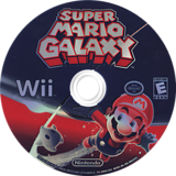 Super Mario Galaxy Wii disc (RMGE01)