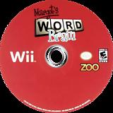 Margot's Word Brain Wii disc (RMIE20)
