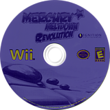 Mercury Meltdown Revolution Wii disc (RMME7U)