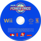 MLB Power Pros Wii disc (RMPE54)