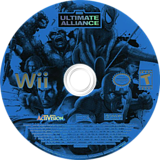 Marvel: Ultimate Alliance Wii disc (RMUE52)