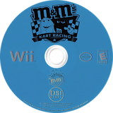 M&M's Kart Racing Wii disc (RMWE20)