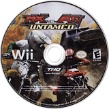 MX vs. ATV: Untamed Wii disc (RMXE78)