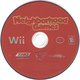 Neighborhood Games Wii disc (RN7E78)