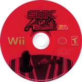 SNK Arcade Classics Volume 1 Wii disc (RNCEH4)
