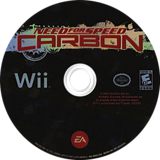 Need for Speed Carbon Wii disc (RNSE69)