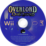 Overlord: Dark Legend Wii disc (ROAE36)