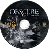 Obscure: The Aftermath Wii disc (ROBE7U)