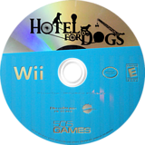 Hotel for Dogs Wii disc (ROEEJZ)