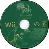 Tak and the Guardians of Gross Wii disc (ROGE78)