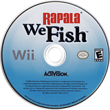 Rapala: We Fish Wii disc (ROJE52)