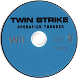 Twin Strike: Operation Thunder Wii disc (ROTE20)