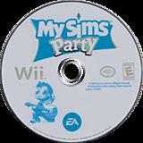 MySims Party Wii disc (RP4E69)