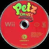 Petz Crazy Monkeyz Wii disc (RP6E41)