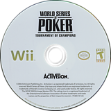 World Series of Poker: Tournament of Champions 2007 Edition Wii disc (RPKE52)