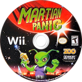 Martian Panic Wii disc (RQ7E20)