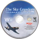 The Sky Crawlers: Innocent Aces Wii disc (RQREXJ)