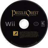 Puzzle Quest: Challenge of the Warlords Wii disc (RQWEG9)