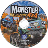 Monster 4x4: Stunt Racer Wii disc (RQZE41)