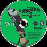 Madagascar: Escape 2 Africa Wii disc (RRGE52)