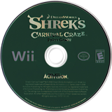 Shrek's Carnival Craze Party Games Wii disc (RRQE52)