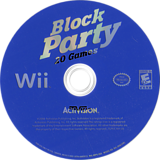 Block Party 20 Games Wii disc (RRTE52)