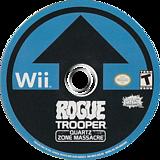 Rogue Trooper: Quartz Zone Massacre Wii disc (RRYEHG)