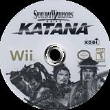 Samurai Warriors: Katana Wii disc (RS5EC8)