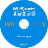 Wii Sports Wii disc (RSPE01)
