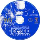 Star Wars: The Force Unleashed Wii disc (RSTE64)