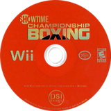 Showtime Championship Boxing Wii disc (RSYE20)