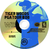 Tiger Woods PGA Tour 08 Wii disc (RT8E69)