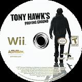Tony Hawk's Proving Ground Wii disc (RT9E52)