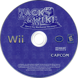 Zack & Wiki: Quest for Barbaros' Treasure Wii disc (RTZE08)