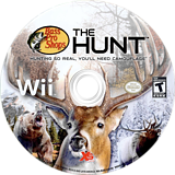 Bass Pro Shops: The Hunt Wii disc (RU8EFS)