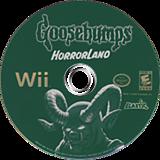 Goosebumps: HorrorLand Wii disc (RUGE7T)