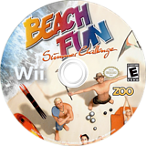 Beach Fun: Summer Challenge Wii disc (RV8E20)