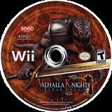 Valhalla Knights: Eldar Saga Wii disc (RVKEXJ)